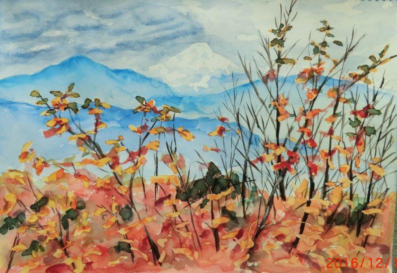 高尾山からの富士山rev2